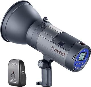 Neewer Vision 4 300W GN60 Flash para Exteriores Estroboscópico de Li-Ion Alimentado Batería Monolight Inalámbrico con Disp...
