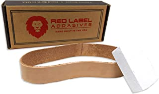 3/4 X 12 Inch Knife Maker's Leather Honing Strop Belt with Buffing Compound (Compatible with Work Sharp Knife and Tool Sharpener Ken Onion Edition)