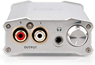 iFi Micro iDAC2 DSD DAC - Digital Analogue Converter with USB Input - SPDIF Optical Coaxial RCA Output - HiFi High Resolution Desktop Home Audio Headphone Amp - MQA Compatible