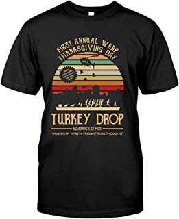 WKRP Turkey Drop Shirt,First Annual WKRP Turkey Drop Shirt,WKRP Turkey Drop T-Shirt,Unisex