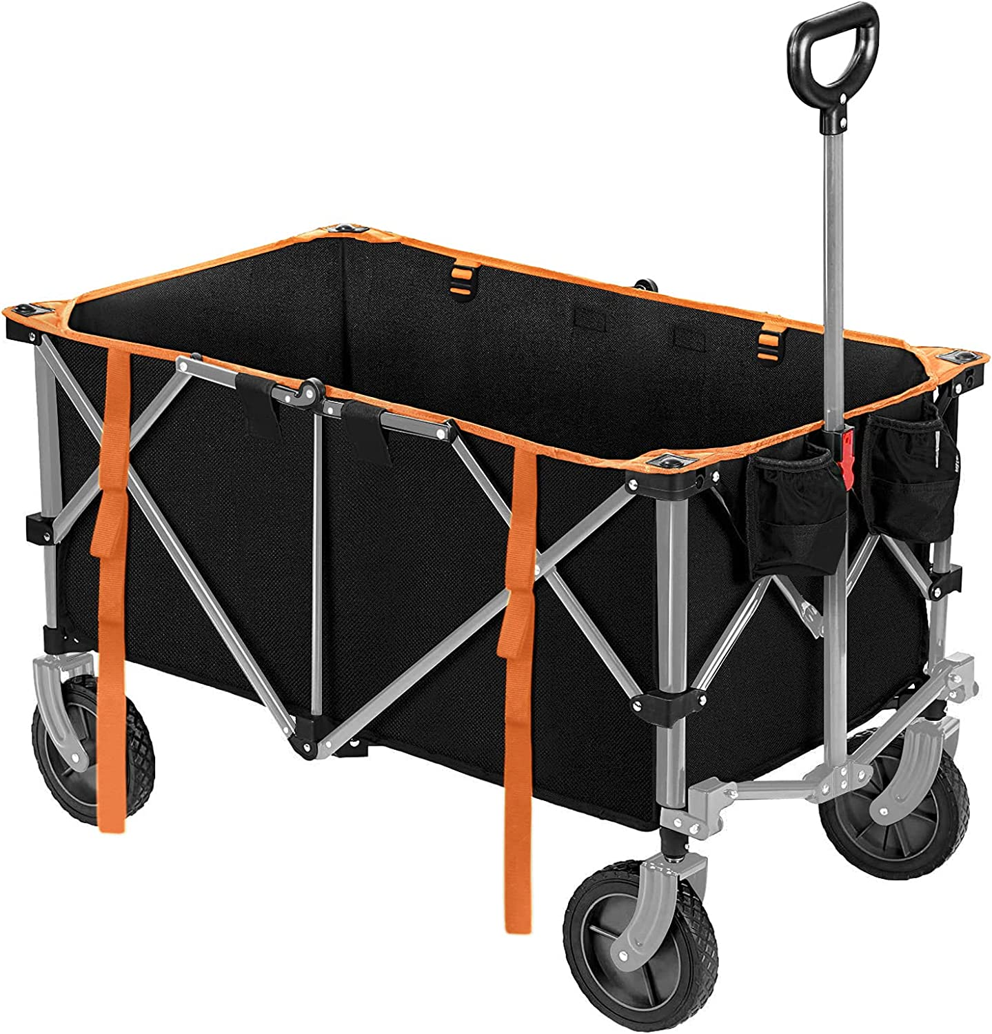 ROMISS Folding Wagon Large Collapsible Sales Free Shipping New Ga Capacity Utility