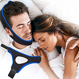 AMYMO Chin Strap for Snoring Solution/Anti Snore Device/Sleep Aid for Men and Women (Regular)