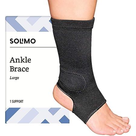 Amazon Brand - Solimo Ankle Brace, Large