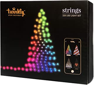 Twinkly 225 LED String Lights | Customizable WiFi-Enabled LED Lights