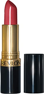 Revlon Super Lustrous Lipstick with Vitamin E and Avocado Oil, Cream Lipstick in Wine, 525 Wine with Everything, 0.15 oz