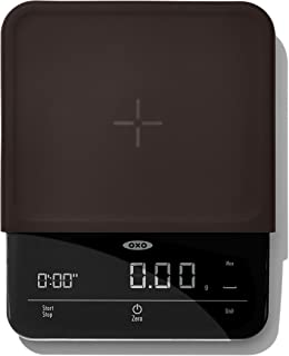 OXO 11212400 Good Grips 6 Lb Precision Coffee Scale with Timer Black
