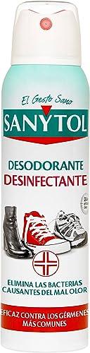 Sanytol Déodorant chaussures désinfectant Spray 150 ml