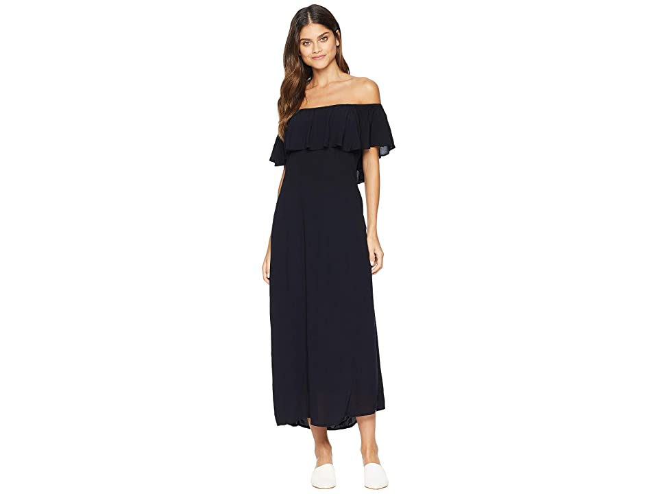 Amuse Society Vista Del Valle Dress (Black) Women