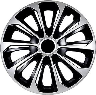 Set 4 Pezzi NRM Copricerchi Universali Drift Graphite 14