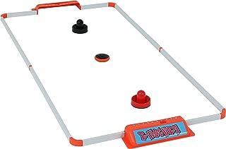 Sunnydaze Portable Hover Air Hockey Set, 52-Inch