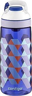 Contigo 康迪克 AutoSeal Courtney 儿童水瓶, 20 oz(约 585.4 毫升), Cerulean