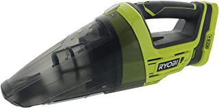 Ryobi P7131 One+ 18V Lithium Ion Battery Powered Cordless Dry Debris Hand Vacuum with..