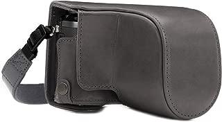 MegaGear MG1706 Panasonic Lumix DMC-GX85 Deri Kamera Çantası
