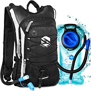 OlarHike Hydration Backpack Pack with 2L BPA Free Leak-Proof Bladder, Insulated Water Backpack for Hiking,Biking,Running,Camping