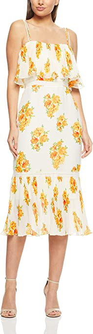 Cooper St Women's Darjeeling Fitted Layered Dress