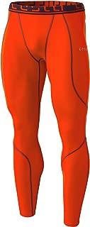 TSLA Men's Thermal Wintergear Compression Baselayer Pants Leggings Tights