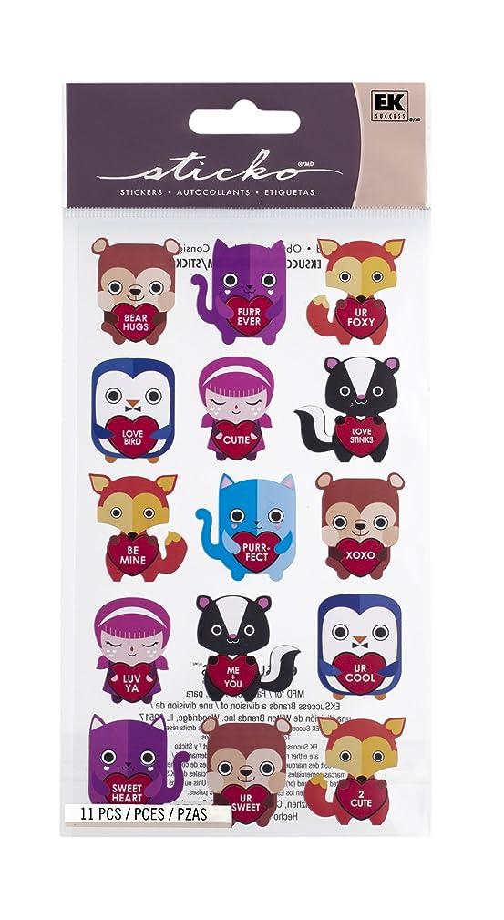 Sticko Bear Hugs Stickers