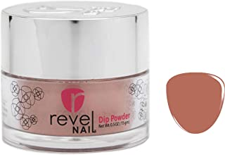 Revel Nail Dip Powder   for Manicures   Nail Polish Alternative   Non-Toxic & Odor-Free   Crack & Chip Resistant   Can Last Up to 8 Weeks   2 oz Jar   Revel Mates (Wink, 2oz)