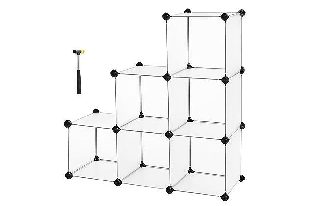 Songmics Storage Cube Organizer Diy Closet Cabinet Chestse Saving Ulpc06w