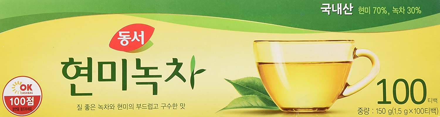 DONGSUH FOOD Challenge the lowest price of Japan Brown Rice Tea Free shipping anywhere in the nation 1.5g100ea Green