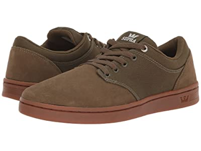 Supra Chino Court (Olive/Gum) Men