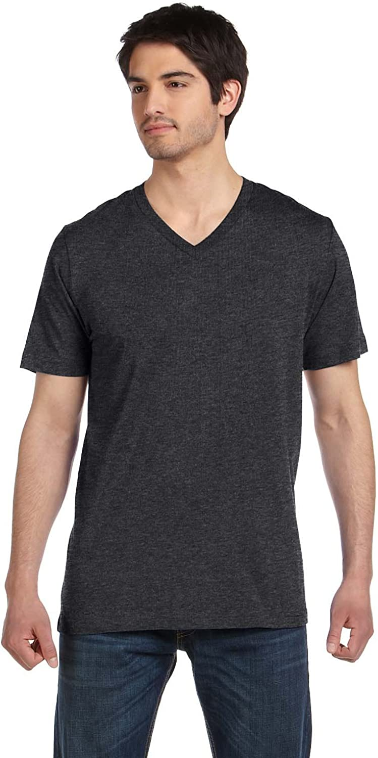 Animer and price revision Bella+Canvas 3005 - Unisex Short Sleeve V-Neck Jersey T-Shirt Max 73% OFF