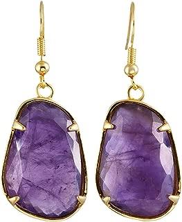 Best purple quartz earrings Reviews