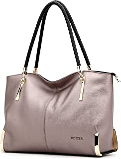 Women Handbag Leather Tote Purse Shoulder Bag Top Handle Handbags