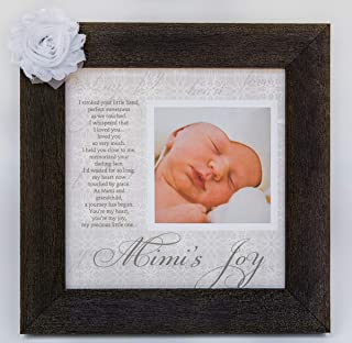 Mimi's Joy Picture Frame with Poetry from Grandchild