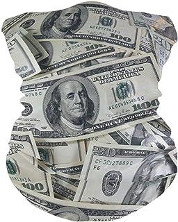 More Money Bavaclava Face Mask for Women Bandana Neck Gaiter Half Face Masks Cold Weather Men kids