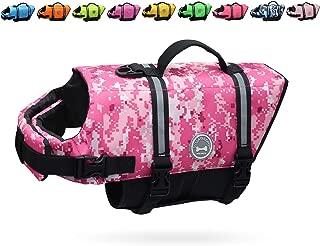 Best pink camo dog life vest Reviews