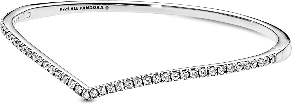 Pandora - bracciale da donna in argento sterling 925 e zirconia cubica 597837CZ-3