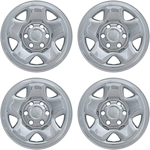 popular 16 inch Hubcap Wheel Skins for 2000-2016 Toyota Tacoma-(Set of 4) Wheel Covers- Car Accessories high quality for 16inch Chrome Wheels- wholesale Auto Tire Replacement Exterior Cap Cover outlet online sale