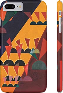 iPhone 7 Plus/8 Plus Slim Cell Phone Case Durable and Impact Resistant with Artwork by Wassily Kandinsky (Theme: Top 1927)