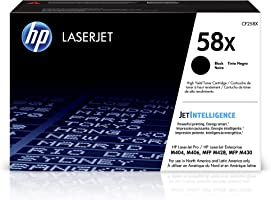 HP 58X | CF258X | Toner-Cartridge | Black | Works with HP LaserJet Pro M404 series, M428 series | High Yield