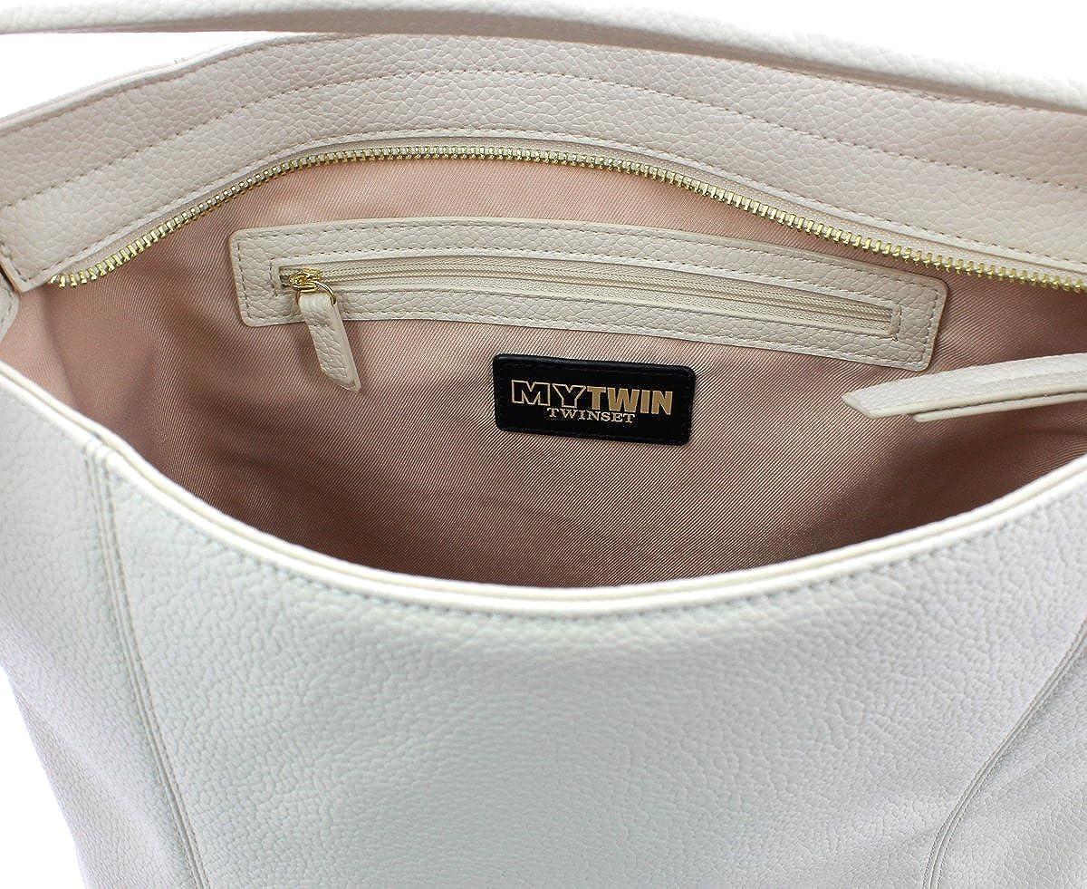 MY TWIN Hobo Bag Panna
