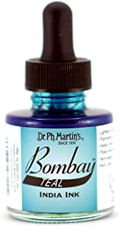 Dr. Ph. Martin's Bombay India Ink, 1.0 oz, Teal