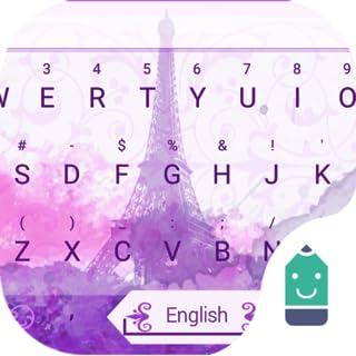Love in Paris Theme&Emoji Keyboard
