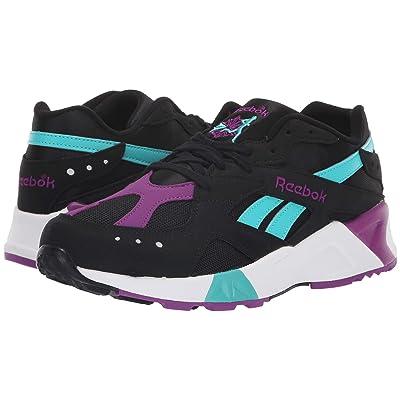 Reebok Lifestyle Aztrek (Black/Teal/Abergine/White/Grey) Athletic Shoes