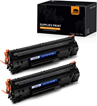 JARBO Compatible Toner Cartridges Repalcement for HP 85A CE285A, 2 Black, Compatible with HP Laserjet Pro P1102W P1109W M1212NF M1217NFW Printer