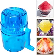 Ice Crusher Manual Machine, Eiscrasher für Snow Cones Eis, Slush, sand Ice Maker Home..