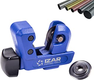 IZAR Professional Tubing Cutter 1/8-inch to 1-inch for Copper PVC Stainless Steel with Spare Blade