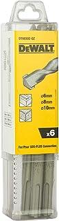 Dewalt Hamerboorset Extreme (6-delig, 160 mm, SDS-plus, Ø 2x 6, 2x 8, 2x 10, in kunststof verpakking) DT60302