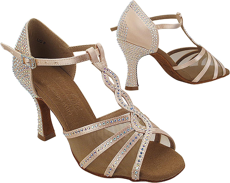 Very Fine Women's Delphine Ballroom, Salsa, Latin, Tango, Waltz Dance Shoe