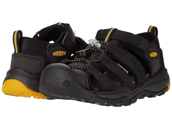 Keen Kids  Newport Neo H2 (Toddler/Little Kid) (Black/Keen Yellow) Boys Shoes