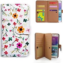 Bfun Packing Note 5 Case,Bcov Flowers in Spring Multifunction Leather Cover Case for Samsung Galaxy Note 5