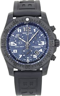 Breitling Chronospace Evo Night Mission Mens Watch w/Black Diver Pro III Rubber Strap V7333010/C939-153S