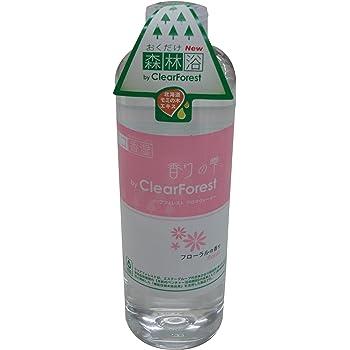 ミクニ 香りの雫クリアフォレストウォーター 285ml フローラル U02F-10 電気を使わないエコ加湿器とさらに森の潤い空間を提供する