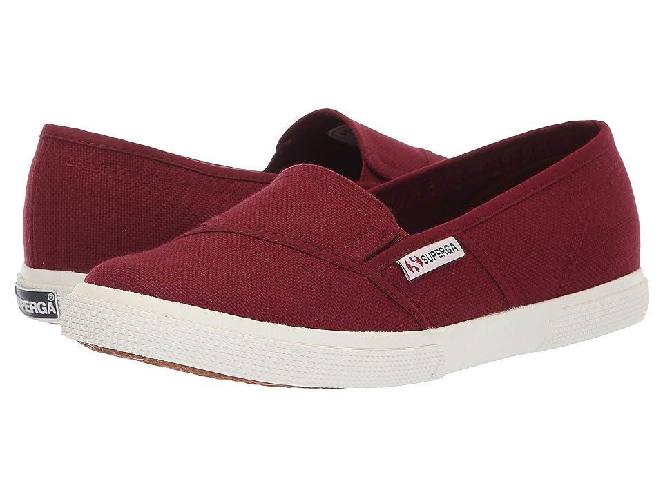 Superga 2210 COTW Slip-On Sneaker (Bordeaux) Women