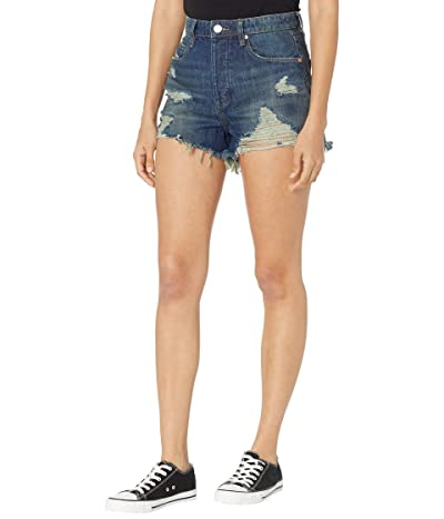 Blank NYC The Reeve High-Rise Denim Shorts in Let It Be Women